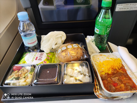马汉航空伊斯坦布尔-德黑兰-广州长途商务转机之旅
