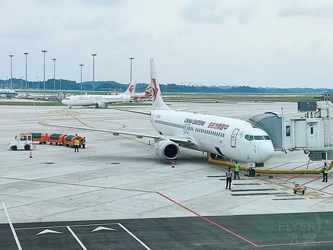 MU2567,武汉天河-成都天府,一瓶水的航班