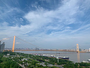 武汉<em>洲际</em>,我愿意称之为武汉最好的酒店。(行政江景套房,江景视野的豪华套)