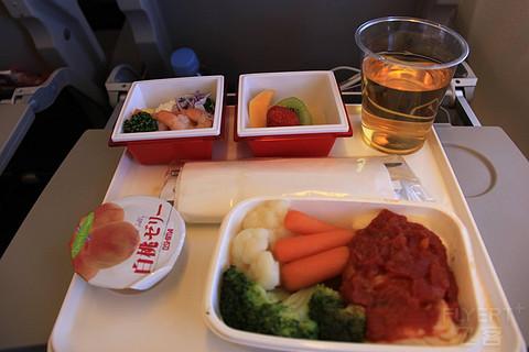 以前正常日子的飞行记录 结束日本行搭乘日本航空返程