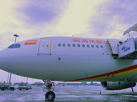 HU7351廣州-成都,經濟艙乘坐體驗