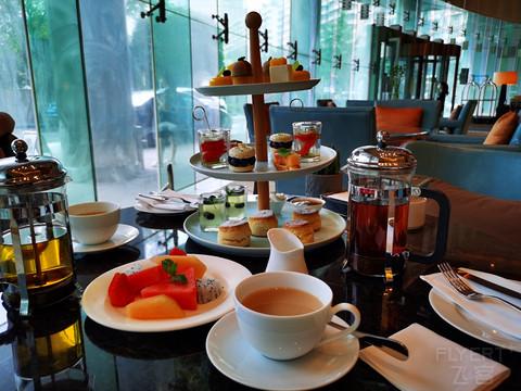 路长知水性,山转见渝州(3)重庆富力凯悦酒店凯悦套房 茶源下午茶体验报告