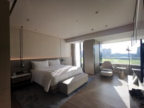 上海东方美谷JW万豪酒店行政套房二刷附三星堆展览