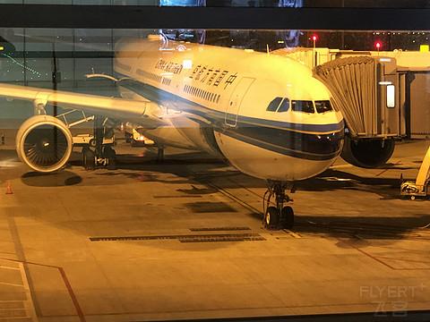 南航CZ6578上海浦东-贵阳龙洞堡公务舱飞行报告