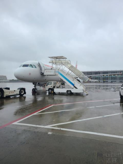 因为台风,含税498的中联航福袋往返变成了东航Y、K舱往返(上):PVG-SJW MU5231