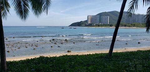 看海天一色,听风起雨落--三亚半山半岛洲际度假酒店
