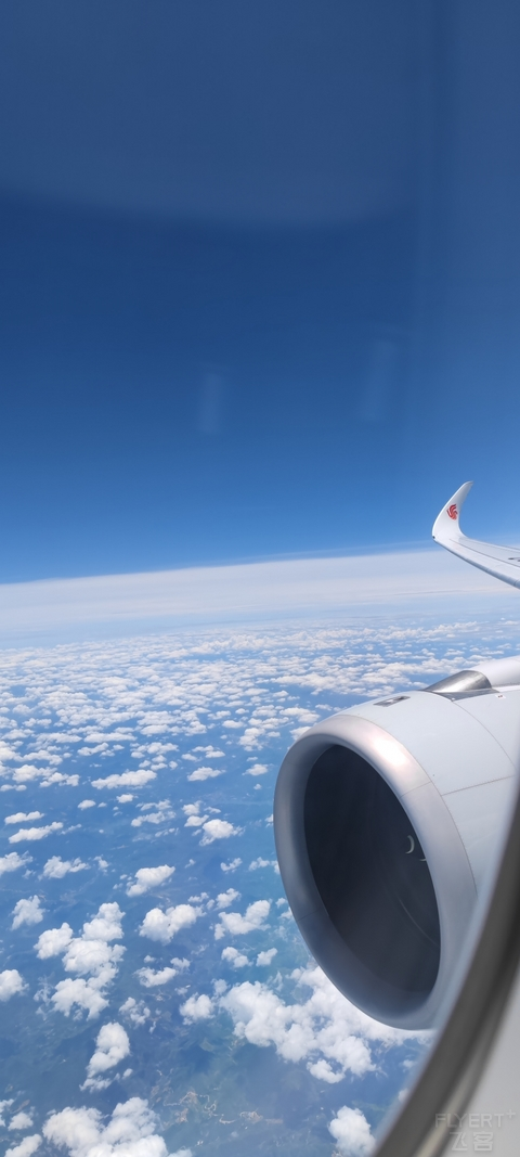 一次超值的国航旗舰A350-900商务舱之旅(CA1894 SZX-PVG)