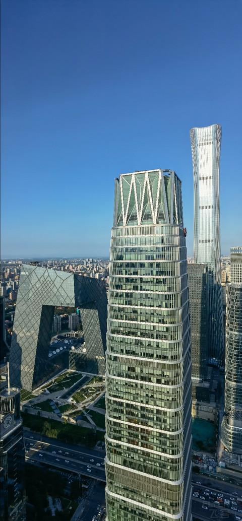 北京国贸大酒店超豪华大床房