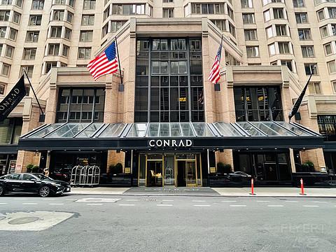 【拾光 3】不夜城中一片蓝紫——Conrad New York Midtown纽约中城康莱德体验报告