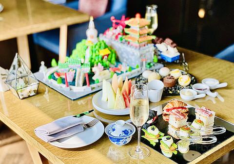 故宫以东|北京金茂万丽酒店不负•遇见系列故宫以东网红下午茶