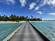 疫情旅行体验 马尔代夫柏悦 几乎承包了整个岛