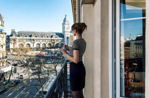 [巴黎·启缤] 巴黎首发希尔顿Tapestry Hotel Camile