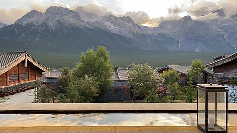 寻味丽江·金茂璞修雪山酒店 雪景阁餐厅用餐体验·在玉龙雪山前大快朵颐