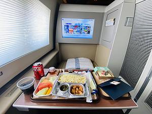 生日当天东航京沪777头等体验MU5103SHA-PEK