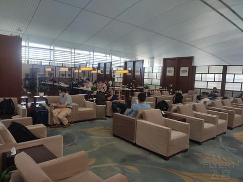 南京禄口机场,东航公务舱贵宾厅体验记