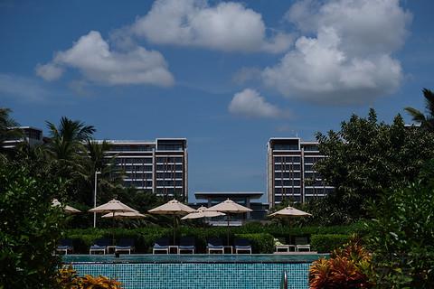 三亚海棠湾索菲特泳池房入住体验报告&泰餐厅&行政待遇分享