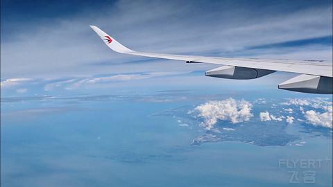 东航A350简评 MU5377 上海浦东-三亚凤凰 PVG-SYX