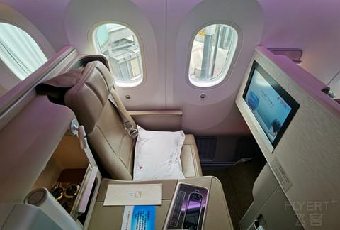 上海航空梦想客机B787-9沪深线包厢式公务舱体验,FM9332,深圳宝安SZX-上海虹桥SHA