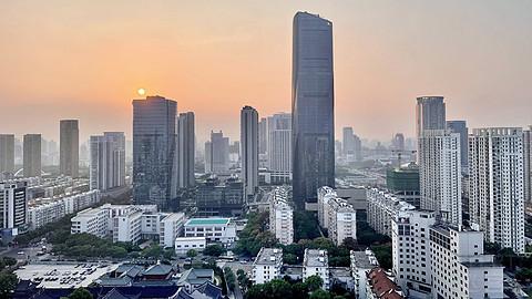 宁波东港喜来登超级大大大行政房& 绝美的七塔禅寺