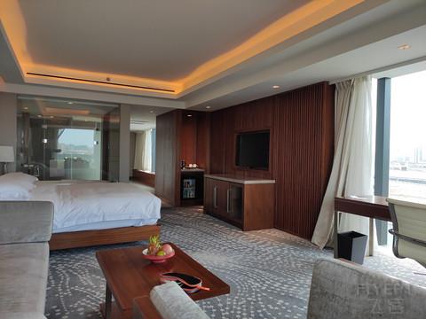 济南贵和洲际酒店 地理位置优越 行政酒廊餐食出众  值得体验