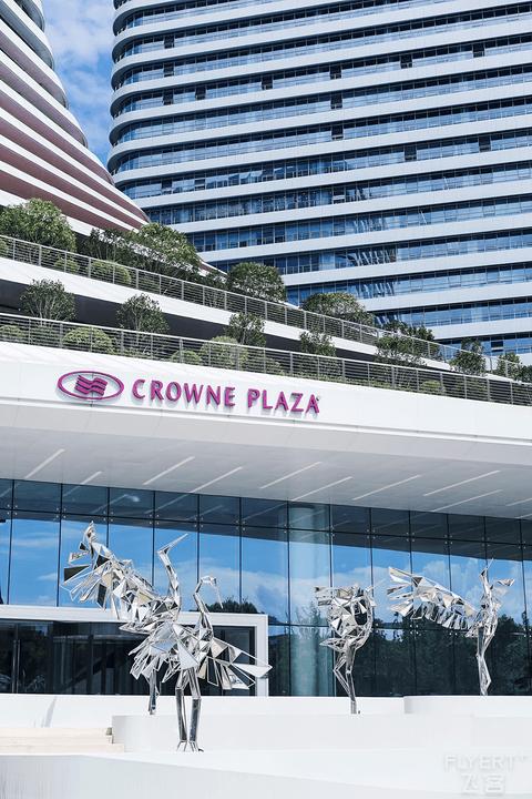 号称洲际新标准的武汉光谷皇冠假日酒店
