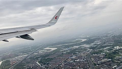 再见流亭,你好胶东!东航A321宁波栎社-青岛流亭飞行体验 MU5481