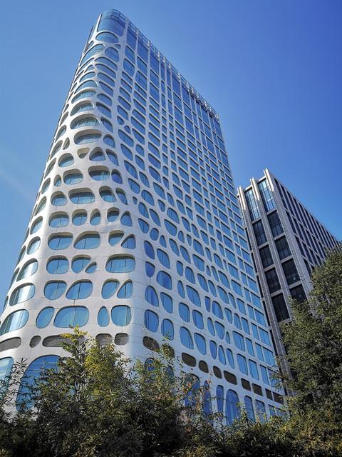 住进东三环蜂巢酒店--北京康莱德