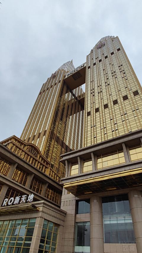 金色双子塔,重庆喜来登江景套房入住报告3
