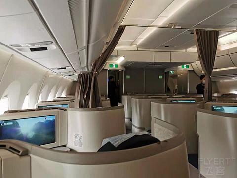硬件升级服务缩水 CA935上海-法兰克福 A350 商务舱详细分享报告
