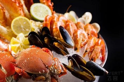 ¥308起/位--上海静安瑞吉酒店-帝王蟹海鲜畅享·澳洲和牛盛宴自助餐