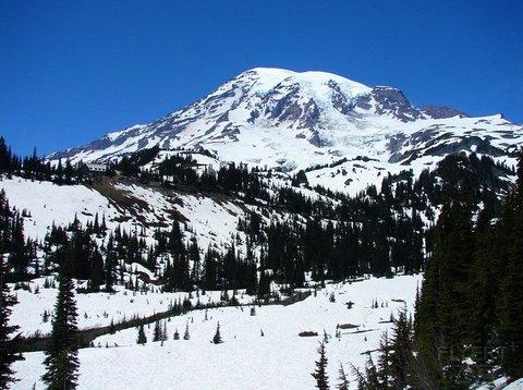 美国:西雅图大喜来登酒店,北美喜来登最佳+奥林匹克,雷尼尔山,北瀑布三大国家公园