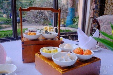 【周末节假日不加价】¥138/套--上海浦东星河湾酒店中式下午茶套餐/西式下午茶套餐