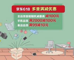 建设银行x京东618,多重满减,最高减100元
