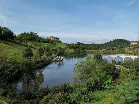 打卡江西新余仙女湖开元度假村