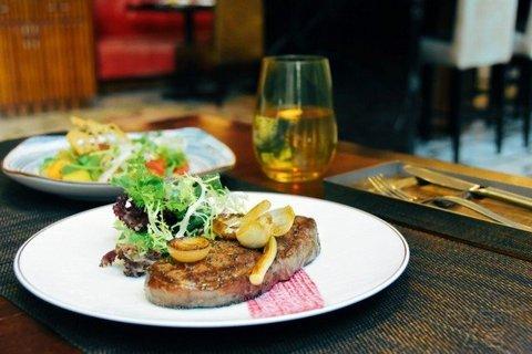 【米其林星厨打造餐厅】¥488/2位--上海浦东文华东方酒店58度扒房精选双人套餐