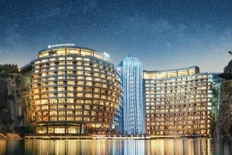 【仅售7天,限前100套】¥3888起/2晚--上海佘山世茂洲际酒店度假套餐,含水世界门票