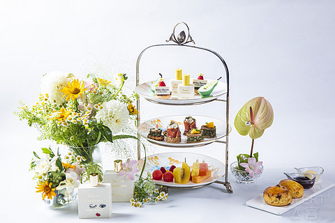 中国大饭店携手Miller Harris推出夏栀茶语主题下午茶
