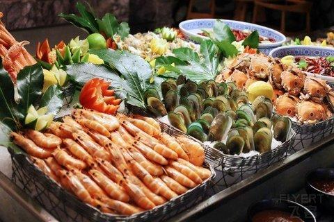 【海陆狂欢】¥188/位--上海漕河泾万丽酒店M9和牛烧烤+东星斑畅吃+小龙虾自助晚餐