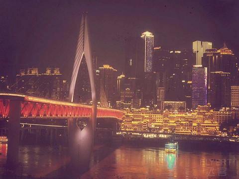 慕名而去重庆两江新区高科希尔顿