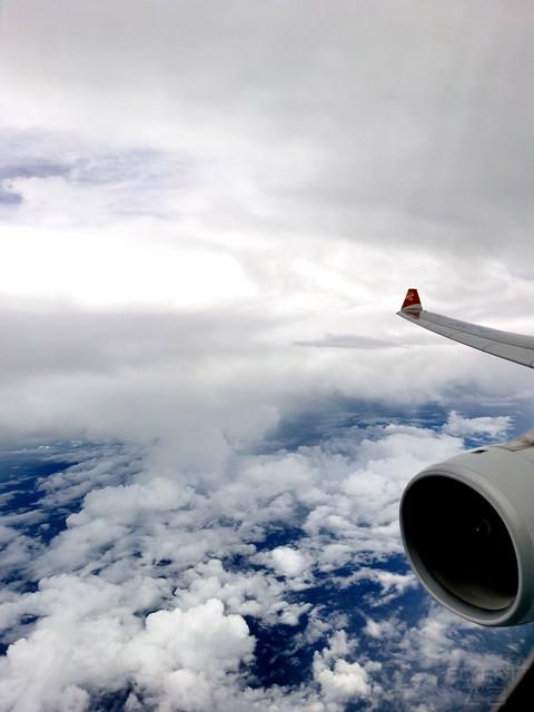 追火箭顺便打卡海航精品航线-HU7382京琼A333反鱼骨公务舱体验报告