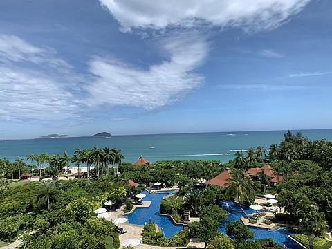 #趁初夏,去旅行#三亚玩水的好去处——体验亚龙湾万豪酒店