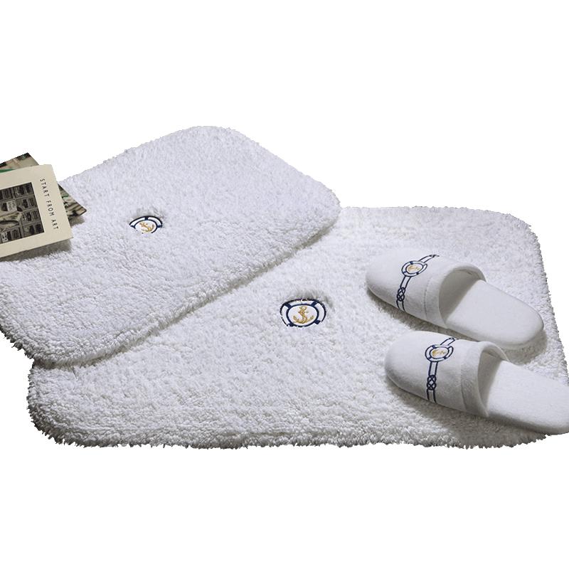 五星级酒店海寐杰克地垫浴室防滑垫子卫生间进门口地垫柔软吸水加厚脚垫