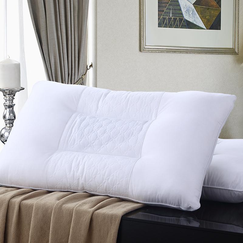 酒店枕头枕芯决明子枕头单面荞麦皮护颈枕成人家用颈椎枕