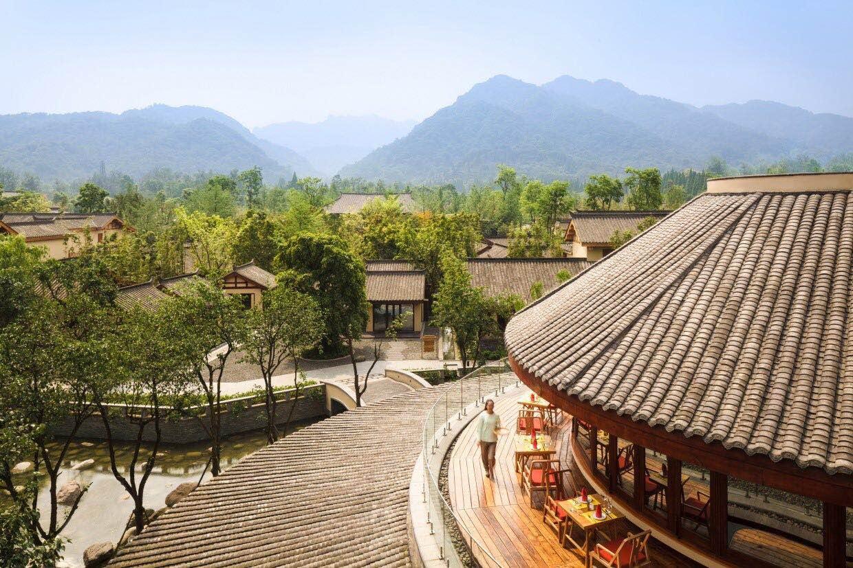 【悦享六善】成都青城山六善酒店3天2晚度假套餐,含早,送500餐饮额度,送景区门票等