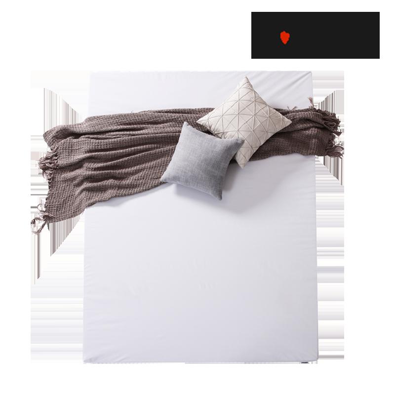 零压房清新薄垫 MLILY梦百合 非温感0压绵床垫  保护脊椎减少压力   厚度5厘米