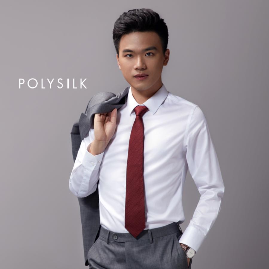 男士真丝领带-红色