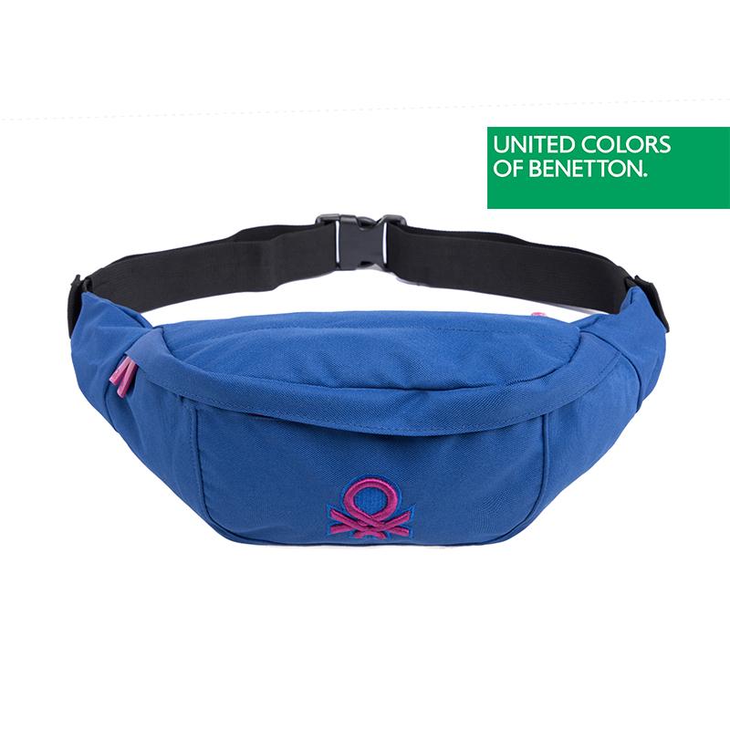 贝纳通(BENETTON)运动腰包跑步男女手机腰带旅行户外包防水
