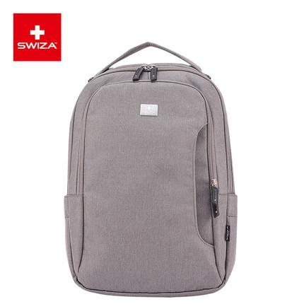 SWIZA百年瑞士刀双肩包男士休闲电脑包男女多功能差旅包商务背包