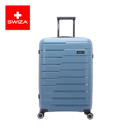 SWIZA百年瑞士拉杆箱万向轮旅行箱男女学生防爆密码箱耐磨防刮行李箱 20英寸