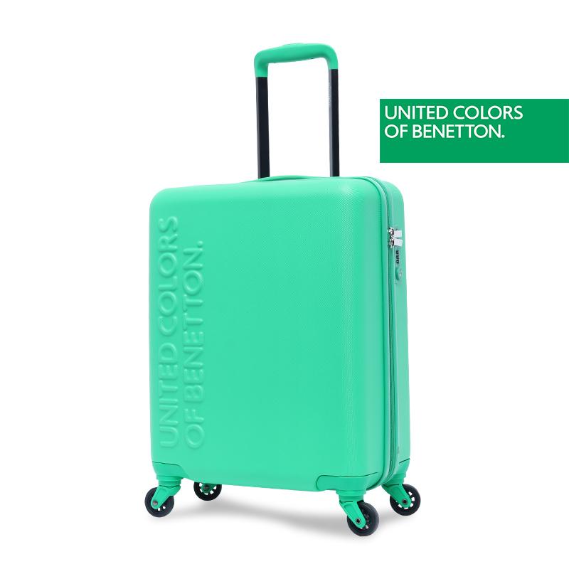 贝纳通拉杆箱万向轮旅行箱女大学生密码行李箱20寸ins网红小箱子
